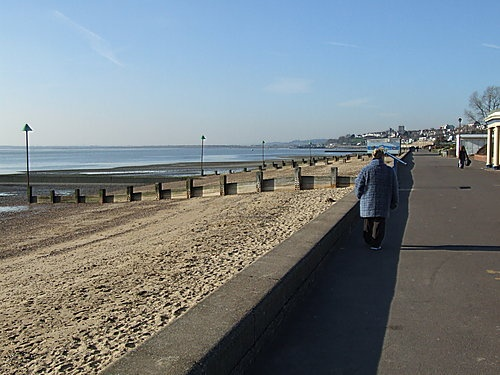 Westcliff-on-sea Beach, UK