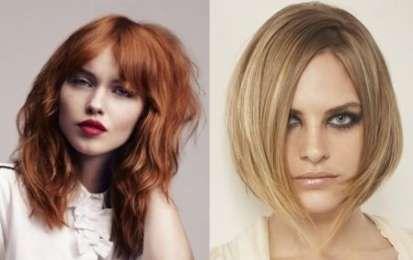 Tagli capelli sfilati medi 2015