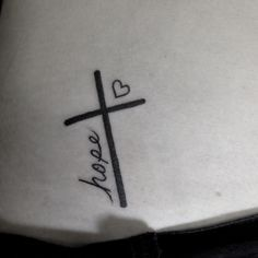 Faith hope love - if I ever got a tattoo.. This is cool