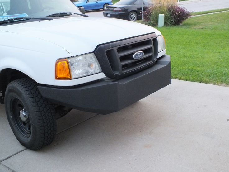 2004 Ford Ranger steel bumper
