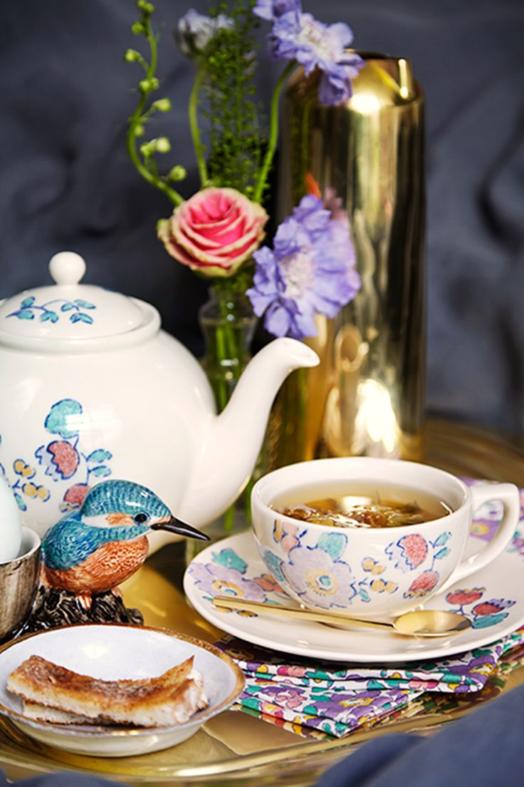 Liberty Print Tea set in Betsy Print from our new Flowers of Liberty collection  http://www.liberty.co.uk/fcp/categorylist/dept/flowers-of-liberty_betsy-print