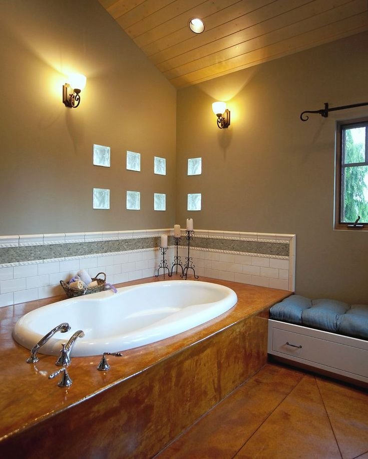 tile tub surround bathroom eclectic with border toilet seats