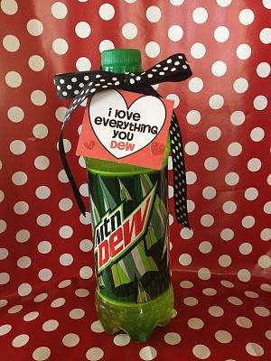 Dew ValentineHoliday, Valentine'S, Sodas Valentine, Little Gift, Perfect Gift, Gift Ideas, Dew, Boyfriends Valentine, Valentine Ideas