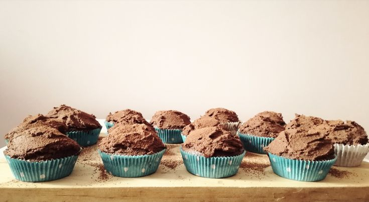 Chocolate brownie cupcakes! Recipe on Marta's Sweet Life