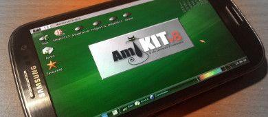 AmiKit pod systemem Android