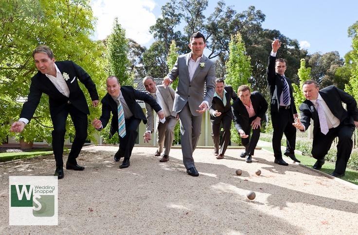 Fun with the boys..   www.weddingsnapper.com.au