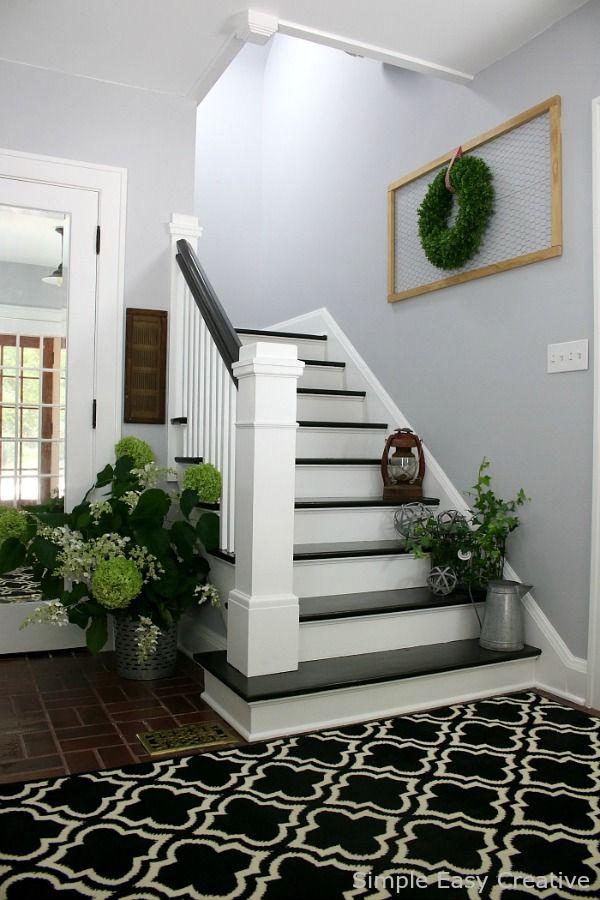 Best 25 foyer decorating ideas on pinterest foyer ideas for Foyer ideas farmhouse