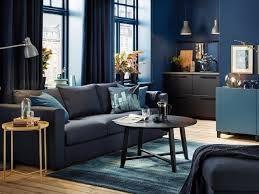 Salon Mur Bleu Nuit Recherche Google Avec Images Deco Bleue