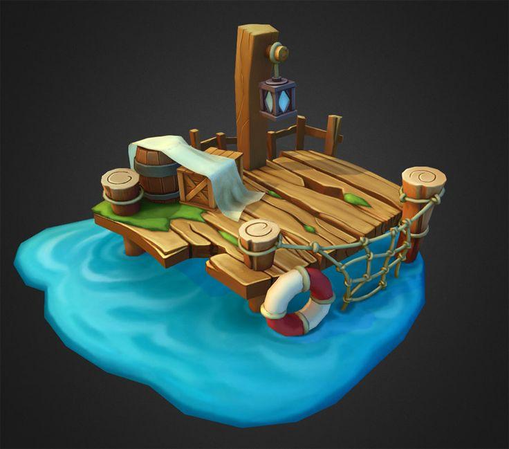 Dock, Ray P on ArtStation at https://www.artstation.com/artwork/dock-bd7146ef-2487-494b-ade3-1209dd82437f