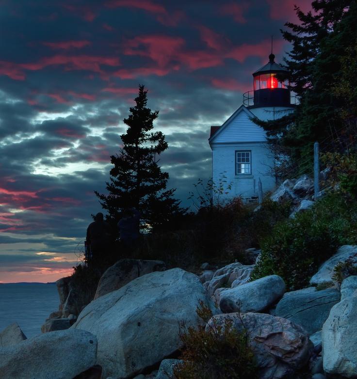 Bass Harbor Lighthouse, Acadia, Maine