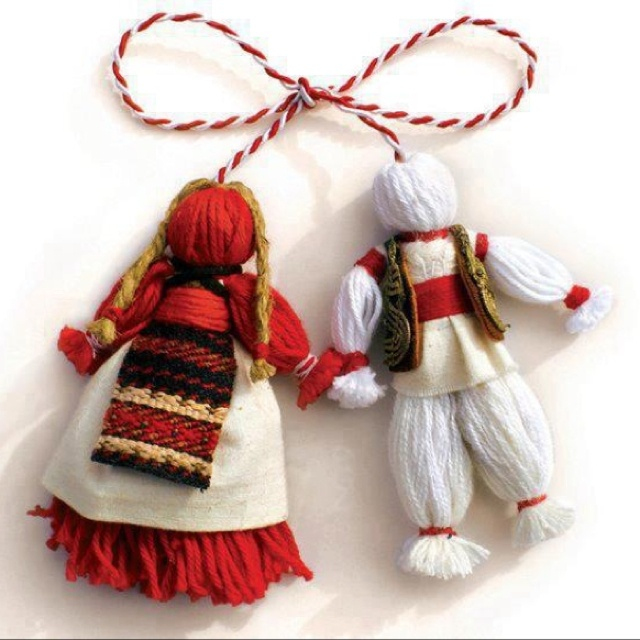 "Happy ""Martisor"" Day for all the people who are celebrating the beginning of spring ;)"