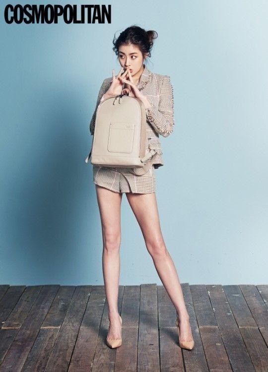 #KangSora Does Fun Office Looks in Latest Fashion Shoot for #Cosmopolitan