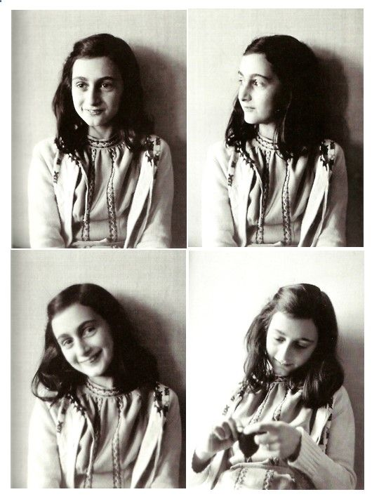 Anne Frank poses in 1941 in this photo made available by Anne Frank House in Amsterdam, Netherlands. In August of 1944, Anne, her family and others who were hiding from the occupying German Security forces, were all captured and shipped off to a series of prisons and concentration camps. Anne died from typhus at age 15 in Bergen-Belsen concentration camp, but her posthumously published diary has made her a symbol of all Jews killed in World War II. (AP Photo/Anne Frank House/Frans Dupo...
