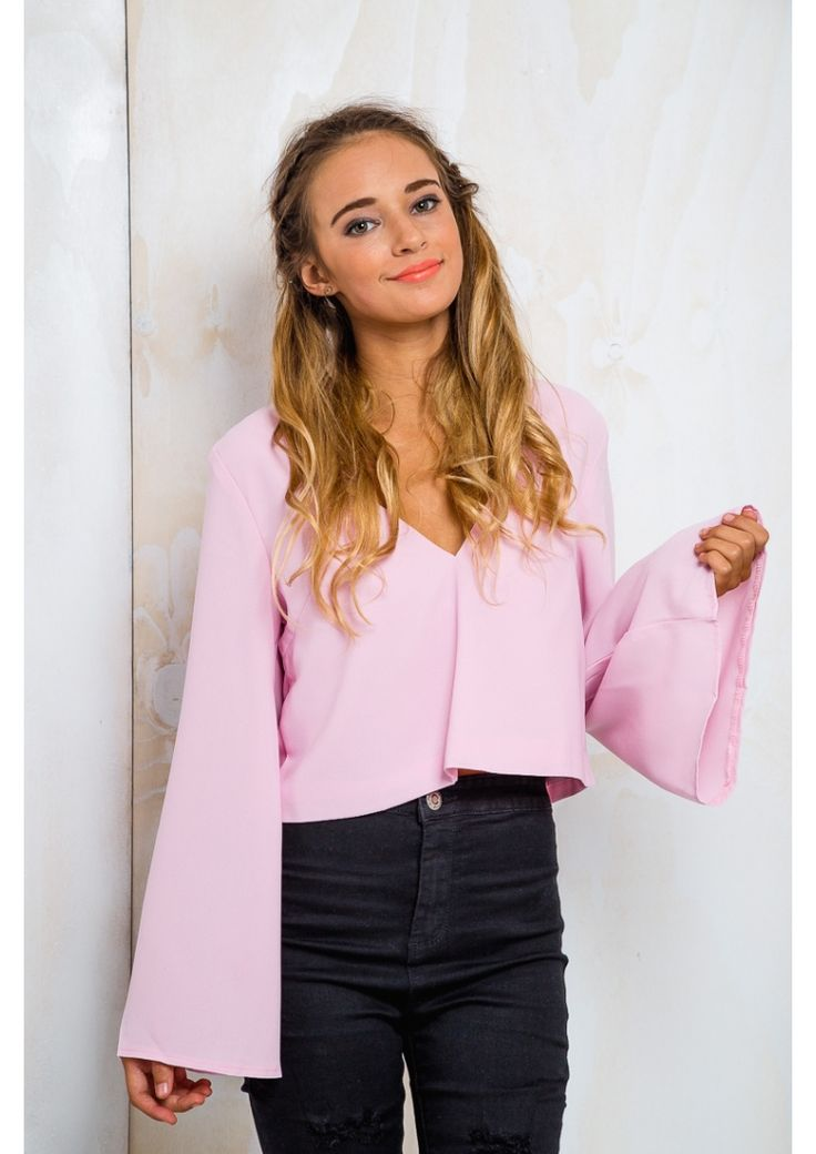 Cookie Crumble Womens Long Sleeve Top - Fairy Floss $42.00