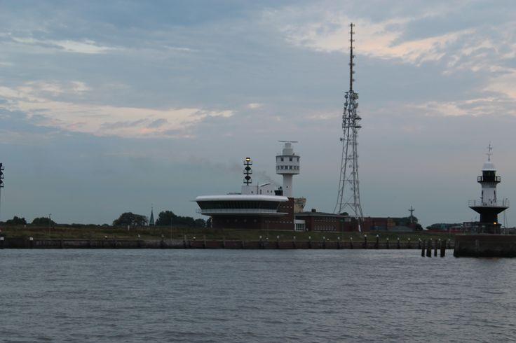 Brunsbuttel - the entrance to the Kiel Kanal