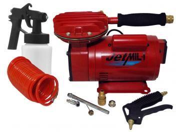 Compressor de Ar Motomil Jet Mil 13190.2 - 65 Litros Motor 1/3HP