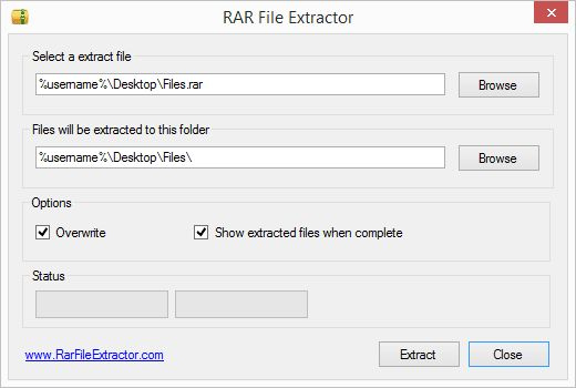 16 Free File Extractors for ZIP, RAR, 7Z, & Other Compressed Formats: RAR File Extractor