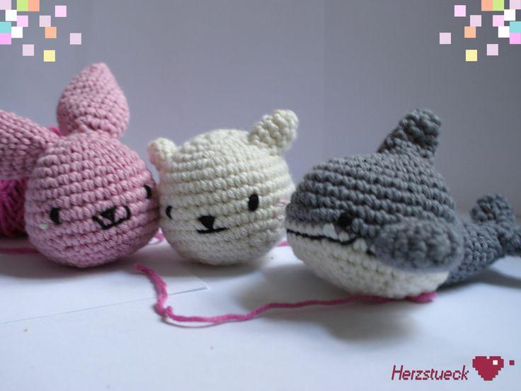 New Amigurumi Patterns by Herzstueck-Handmade