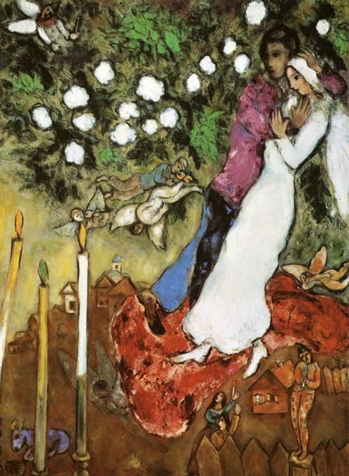 Chagall - The Three Candles