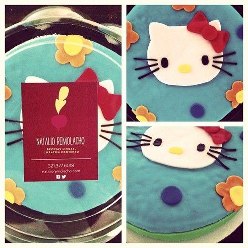 Natalio Remolacho Torta Hello Kitty