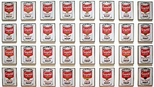 Campbell's Soup Cans, which is sometimes referred to as 32 Campbell's Soup Cans, is a work of art produced in 1962 by Andy Warhol.