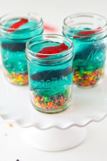 Mini Jello Aquariums - Confessions of a Cookbook Queen
