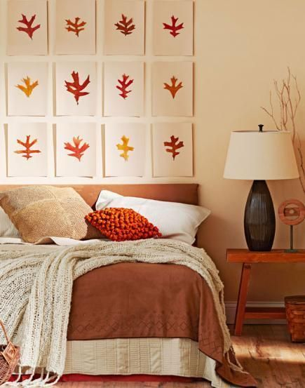 How to warm up a room with an easy fall makeover: http://www.midwestliving.com/homes/seasonal-decorating/12-cozy-fall-decorating-ideas/