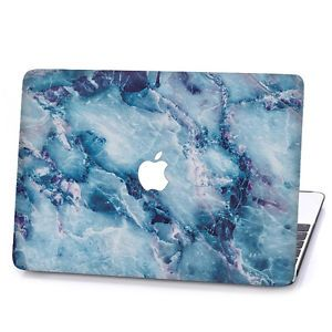 Rubberized Marble Hard Case Cover For Macbook Air 11 Pro 13