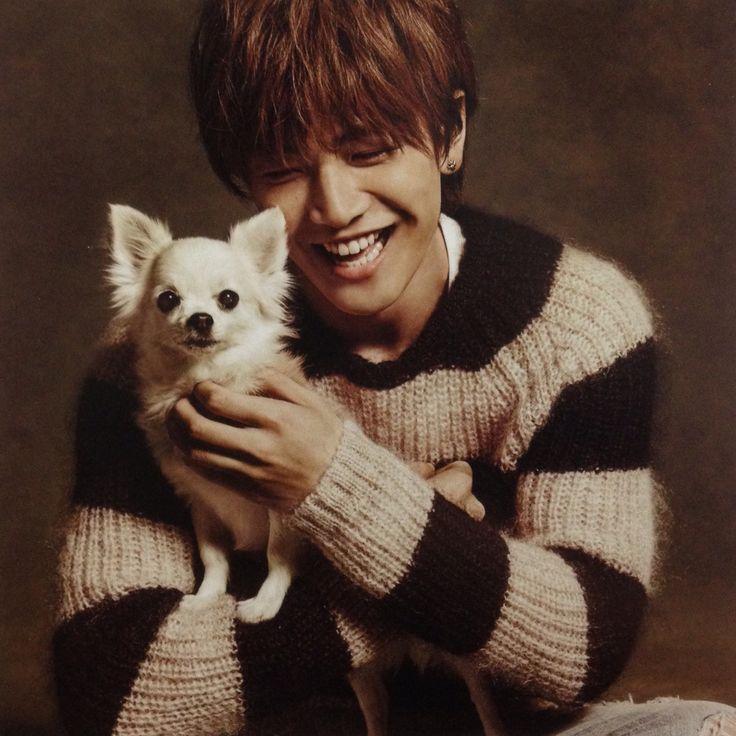 岩田剛典&dog