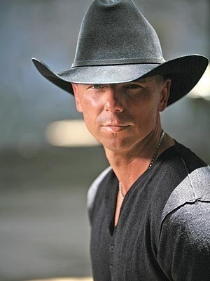 Kenny Chesney...something about a man in a hat ;)
