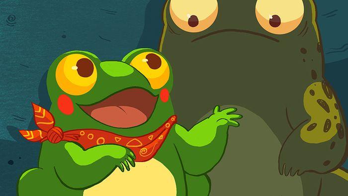 Просмотреть иллюстрацию The two frogs из сообщества русскоязычных художников автора Alekhina Xenia в стилях: Классика, нарисованная техниками: Другое.