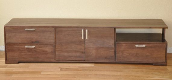 Media Console by SierraWoodStudio on Etsy, $1050.00