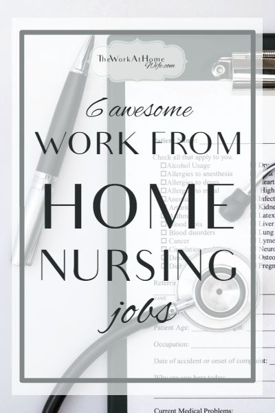 Have a degree in nursing and not quite sure how it can be put to use working from home? Check out these great opportunities.