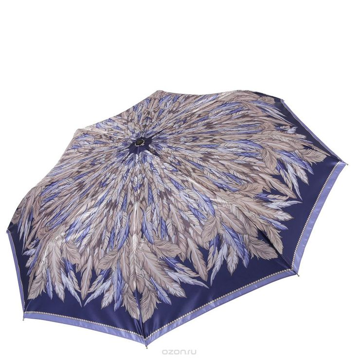Зонт женский Fabretti, цвет: синий. S-16106-3 от Fabretti и другие аксессуары по доступным ценам в интернет-магазине OZON.ru - доставим в любую точку России.