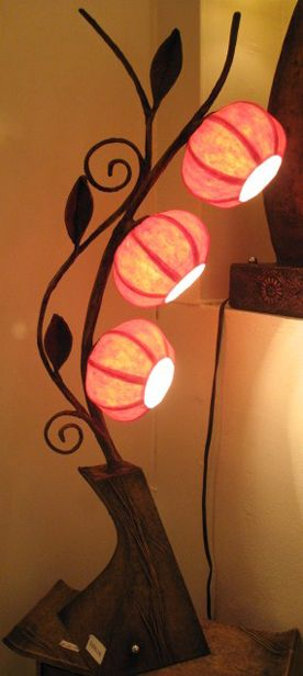 rice paper lamp #handmade