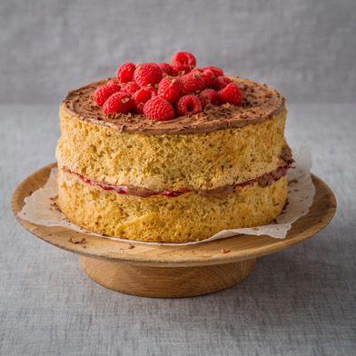 Mrs Haigh's Vanilla Sponge Cake