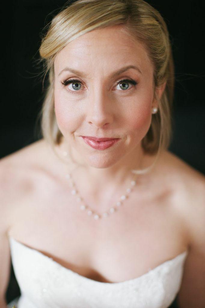 Natural Bridal Makeup The Not Wedding Boston Bride Amanda Mccarthy Beauty Photo Lara