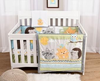 Buy Woodland Critters 6 Piece Crib Bedding Set Online & Reviews
