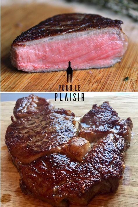 Steak braten, so funktioniert es! Ob Rib Eye Steak, Rumpsteak, Filet Steak oder Flank Steak, das Prinzip ist immer gleich. Probiert es aus!