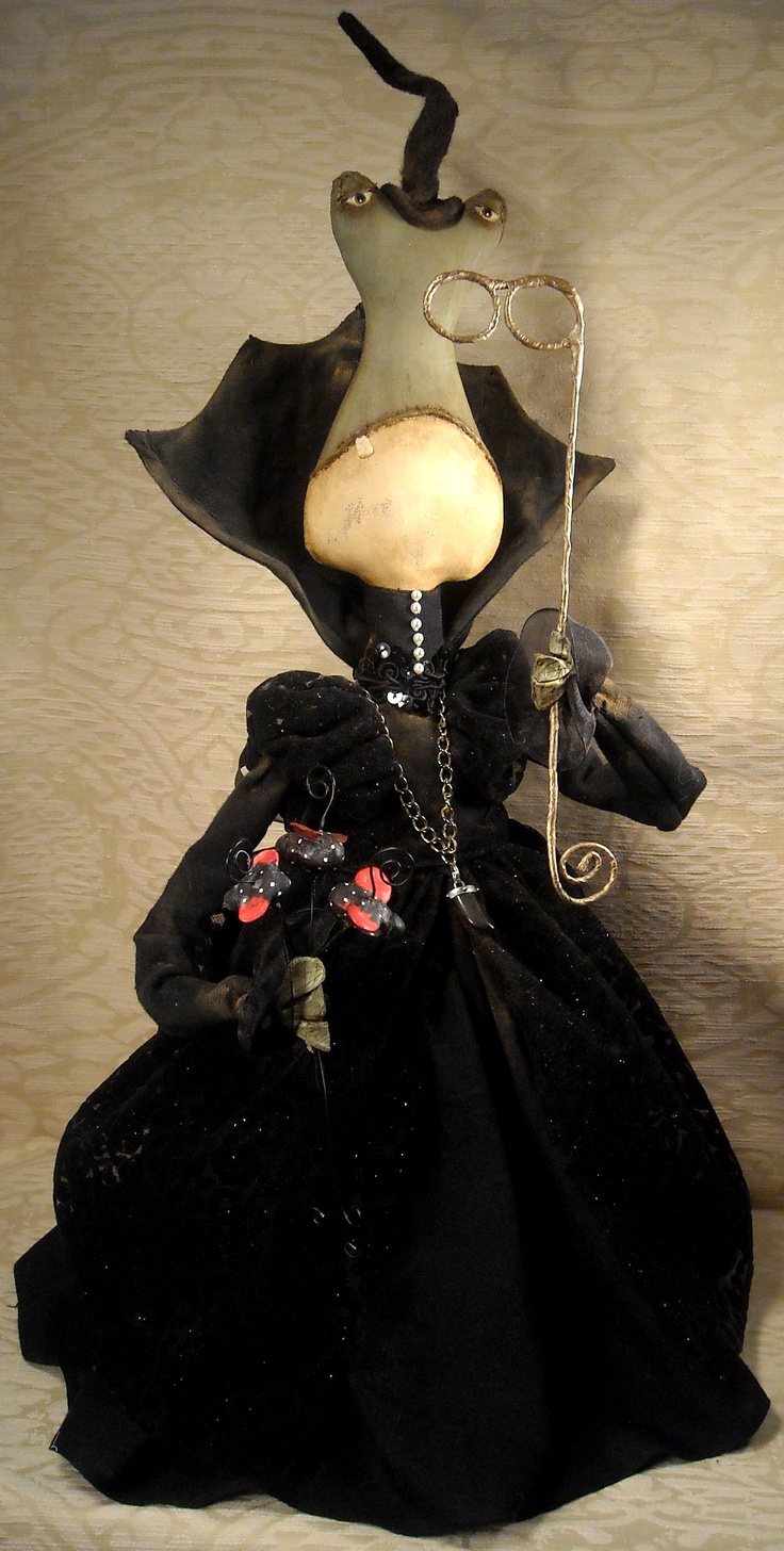 714 best Halloween Art Doll Inspirations images on Pinterest