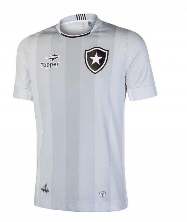 Camisas do Botafogo 2016-2017 Topper Cinza