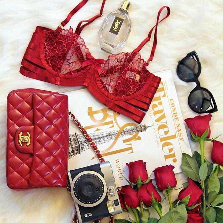Bordelle Sensu Bra Red Theme Fashion Flatlay   See Instagram photos and videos from A Fashion Blog By Tina Lee (@ofleatherandlace)