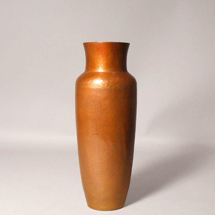 10 Hand Hammered Copper Van Erp Style Vase Cobre Hand Hammered Copper Gifts Home Accents Copper Vase Hammered Copper Copper Gifts