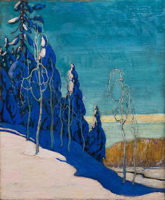 Arthur Lismer - A Clear Winter