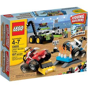 LEGO Bricks and More LEGO Monster Trucks Play Set
