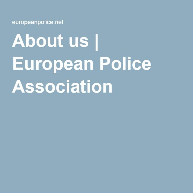 About us | European Police Association