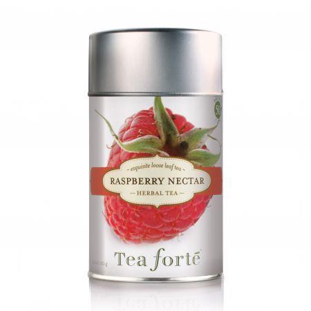 Tea Forte Raspberry Nectar Loose Leaf Herbal Tea 110g - Yuppiechef