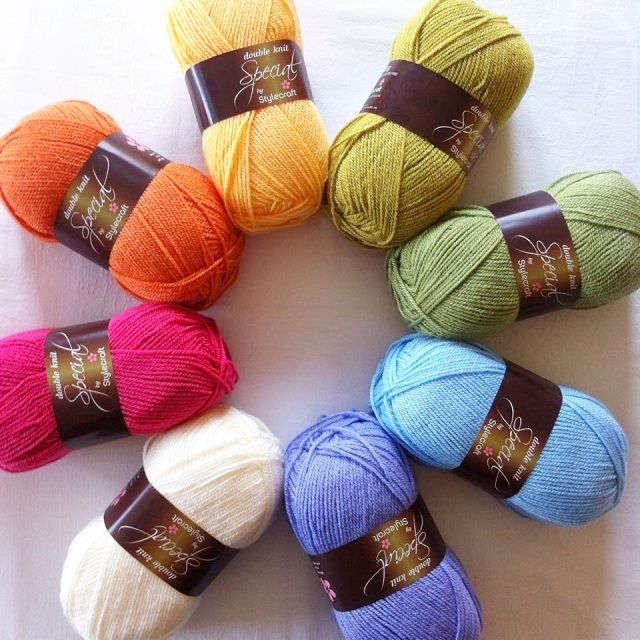 Sunny rainbow vibe Stylecraft Yarn Packs - Lusciously Loopy...