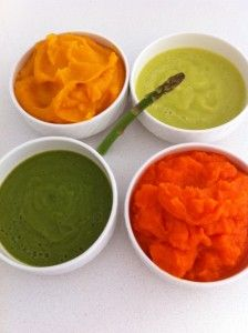 Easy way to make baby food