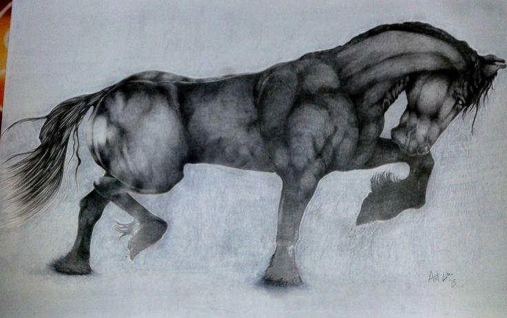 Drawing Pencil Nero (Black Horse)